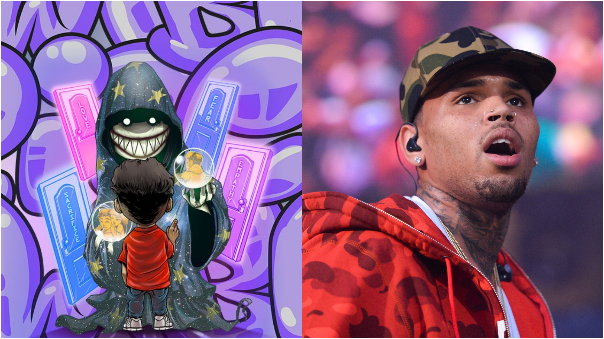 cartoon wallpaper   Cartoon Wallpaper Chris Brown 1920x1080