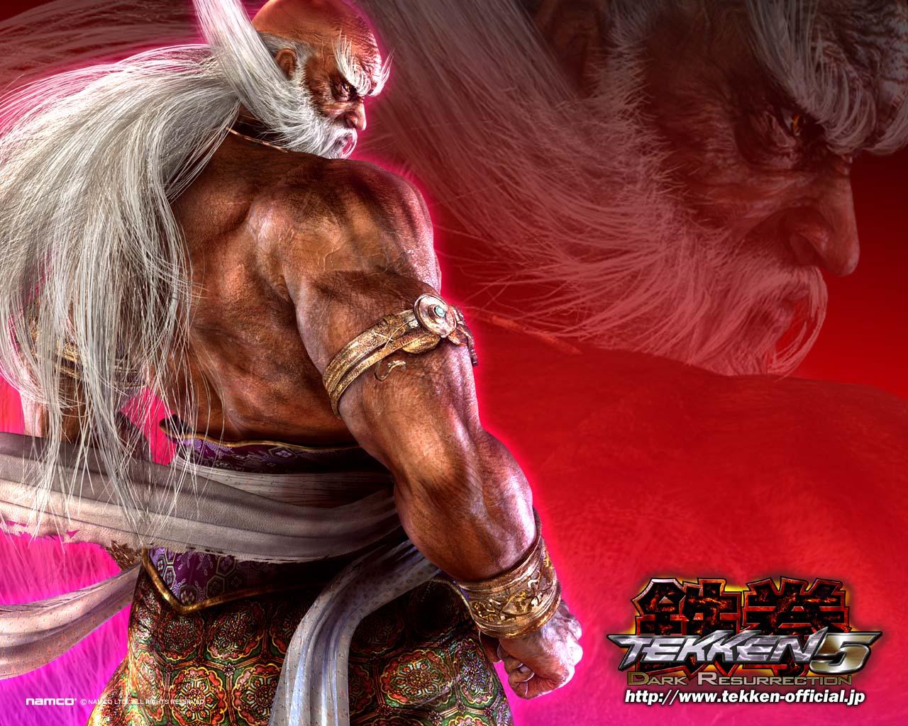 Dark Resurrection Wallpaper   Tekken Wallpaper 243894 1280x1024