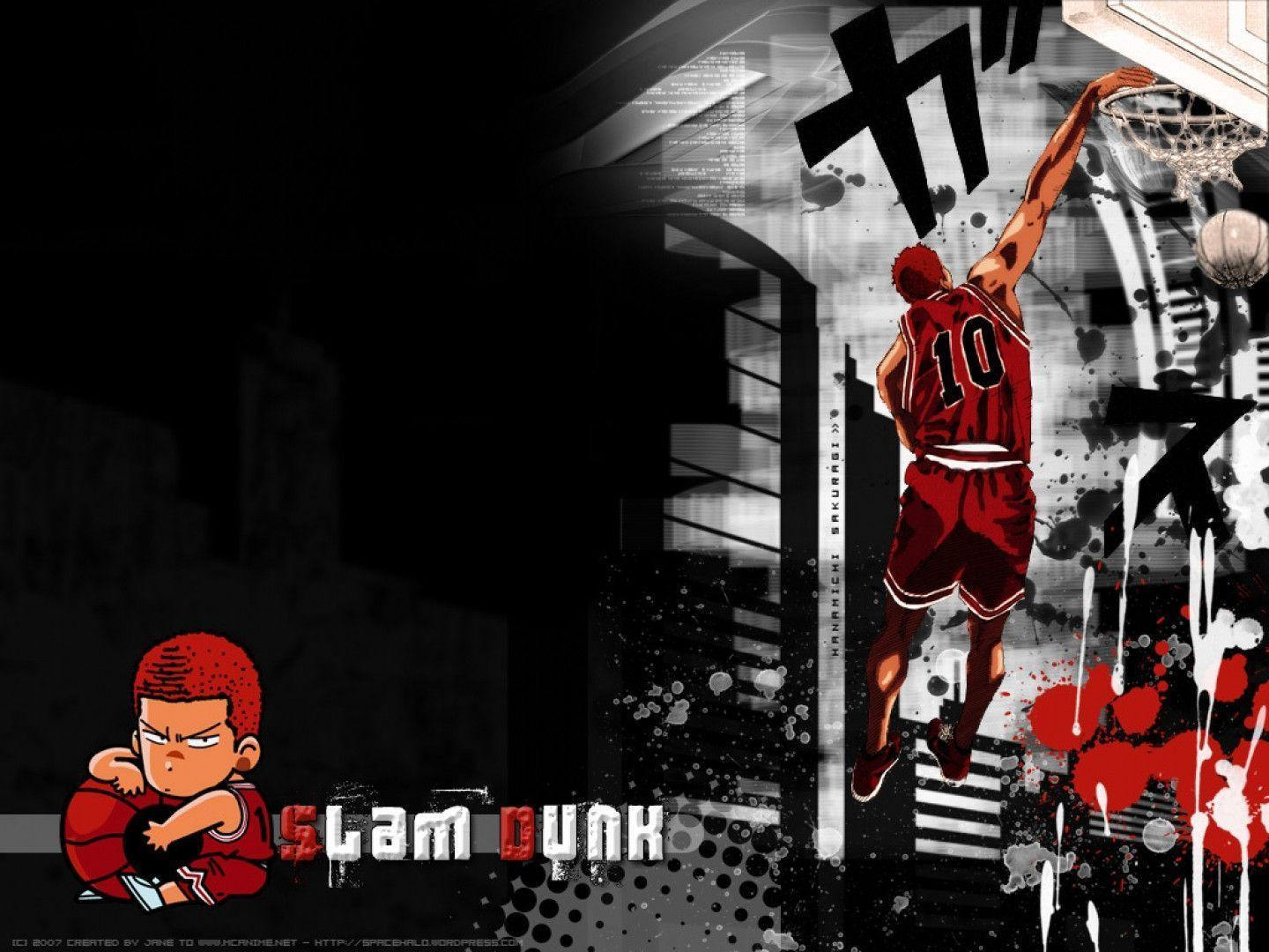75 Slam Dunk Anime Wallpaper On Wallpapersafari