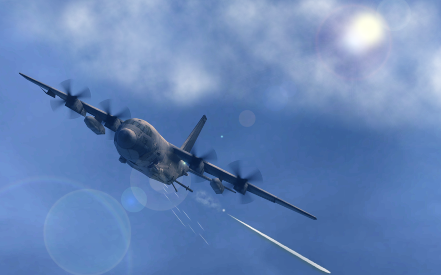 Go Back Gallery For C 130 Gunship Wallpaper 900x563