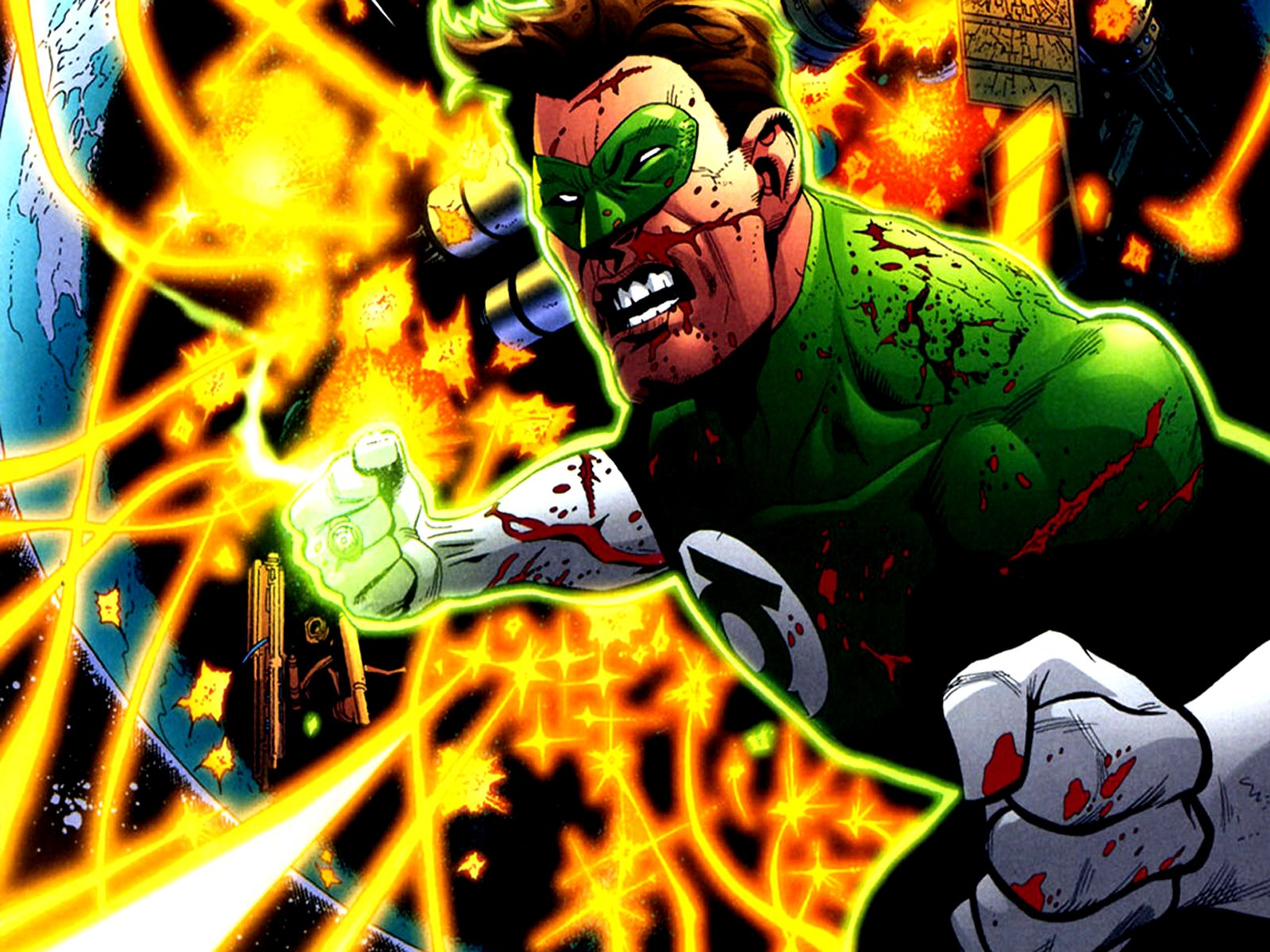 Green Lantern Comic Wallpaper: DC Comics Wallpapers HD