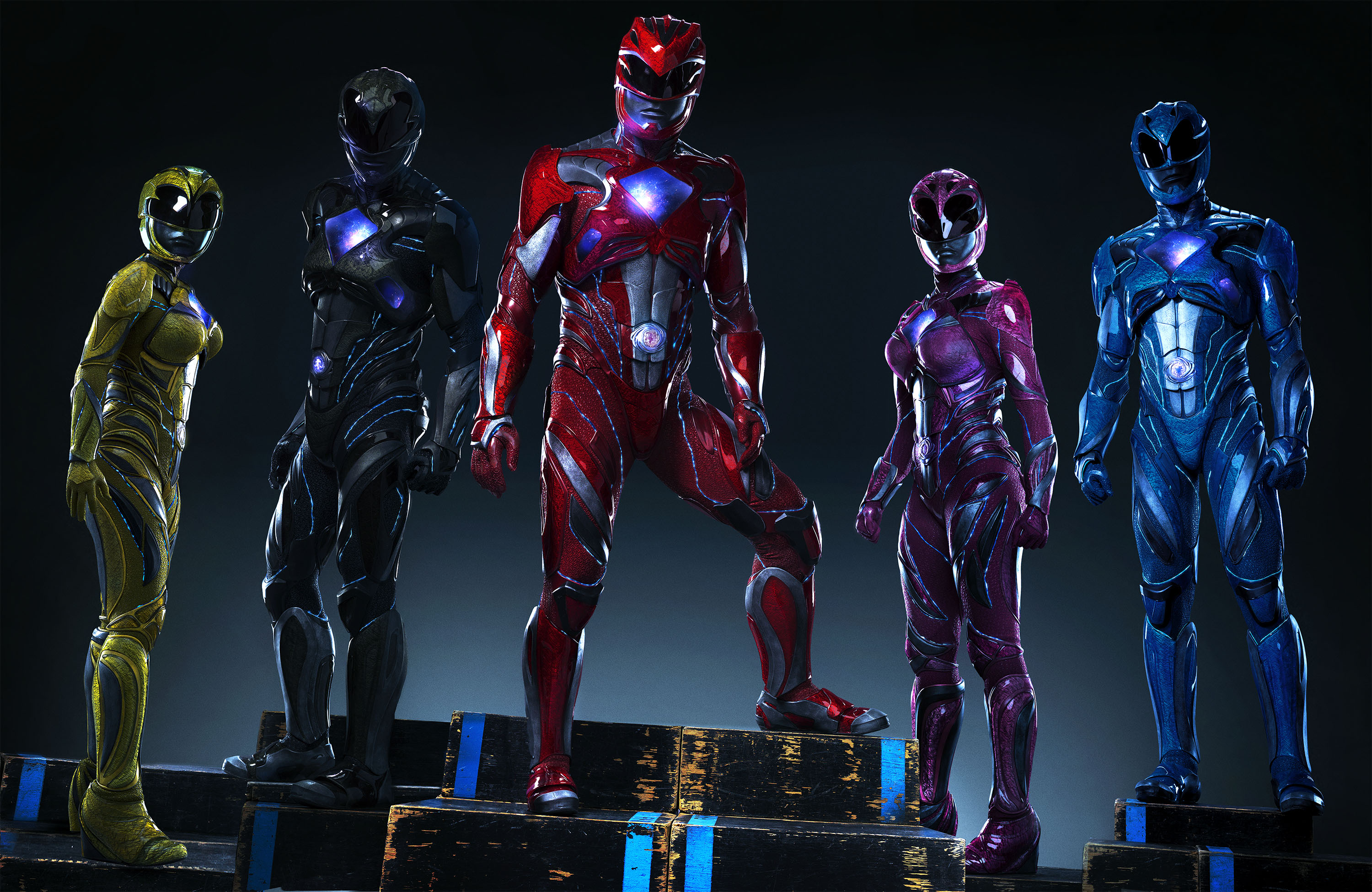 50 Power Rangers 2017 HD Wallpapers Background Images 3000x1950