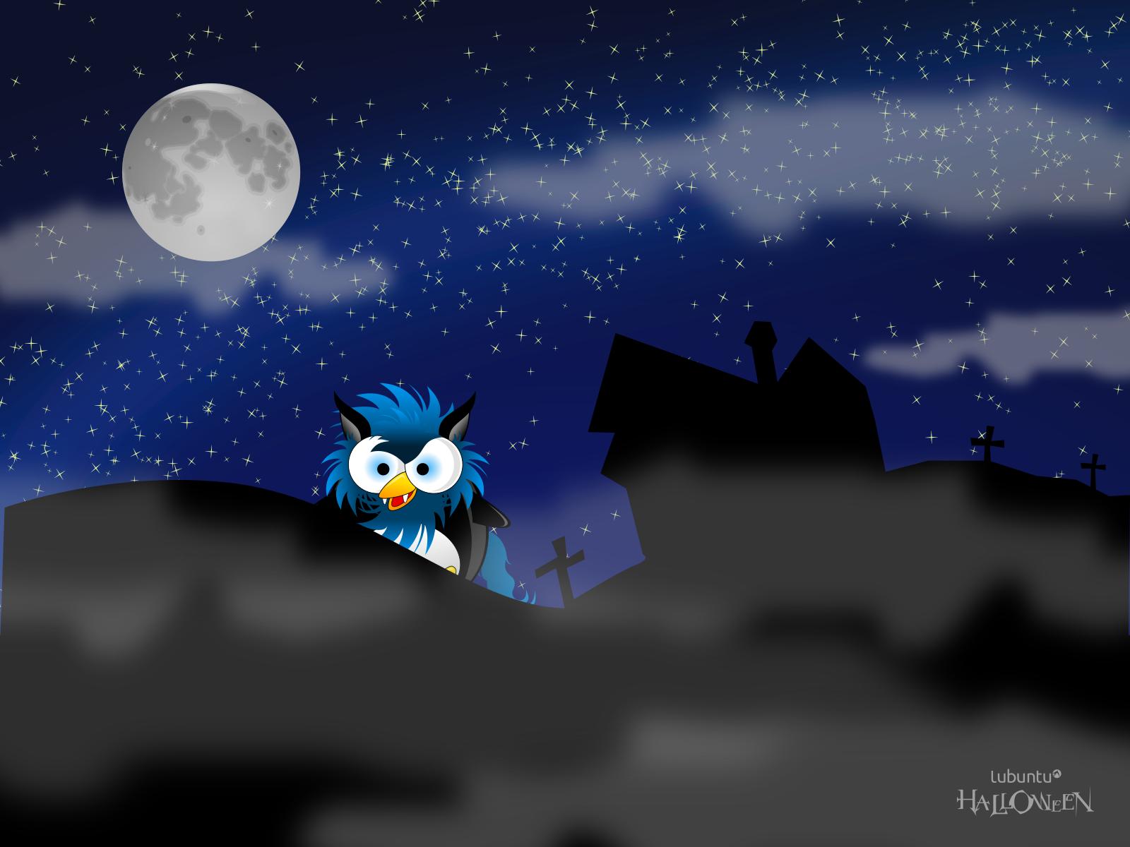 halloween Lubuntu 1600x1200