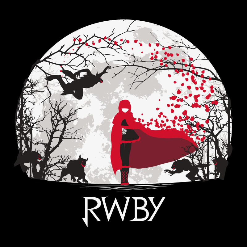 Download RWBY Beowolf Moon Shirt Rooster Teeth Store [800x800]   50+