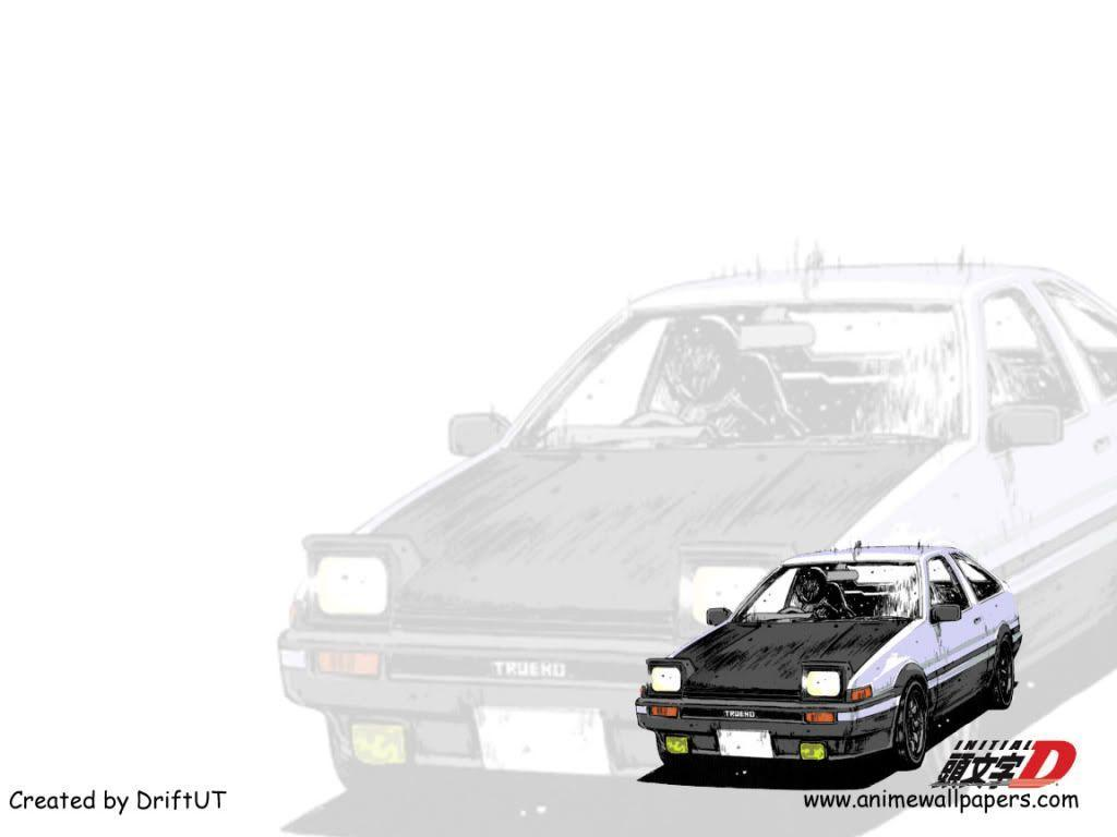 Initial D Wallpapers 1024x768