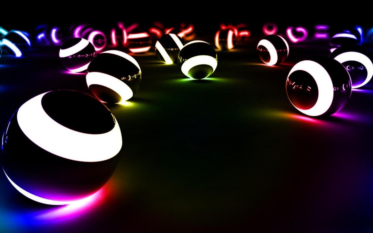 Let Your Desktop Glow with Neon Light Wallpapers 1440x900