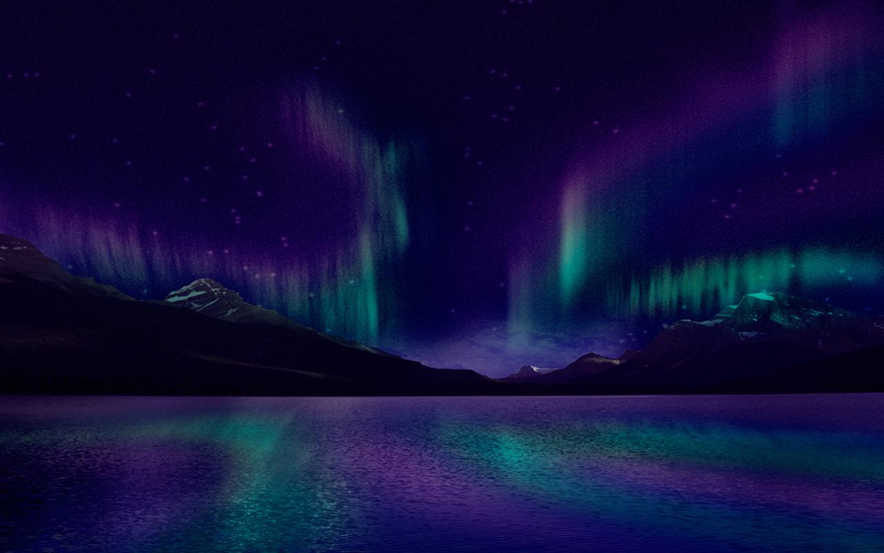 Aurora Borealis Skin for Alienware 14
