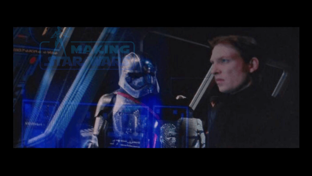 The First Order General giving order to Captain Phasma to retrieve 1050x592