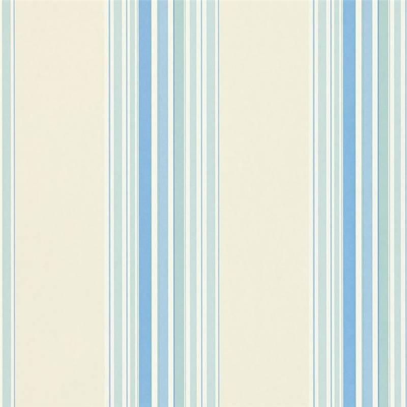Blue Cream   212448   Seaford Stripe   Options 11   Sanderson 800x800