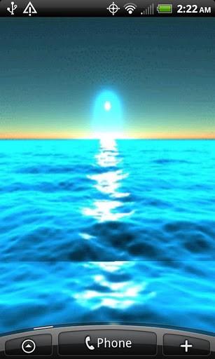 View bigger   Ocean Wave Live Wallpaper for Android screenshot 307x512