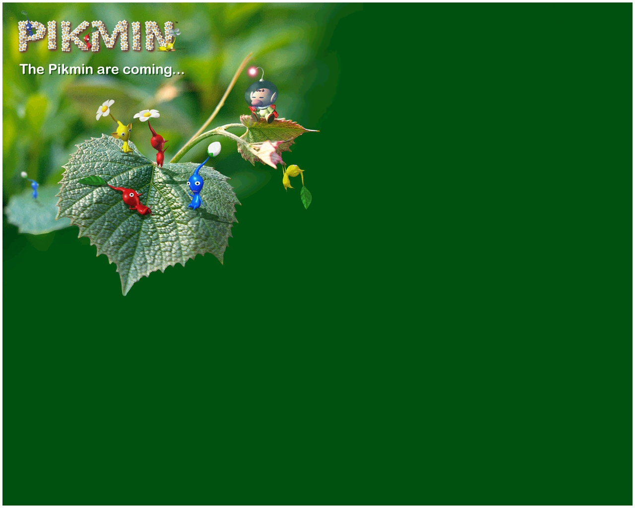 Pikmin HD Wallpaper 14   1280 X 1024 stmednet 1280x1024