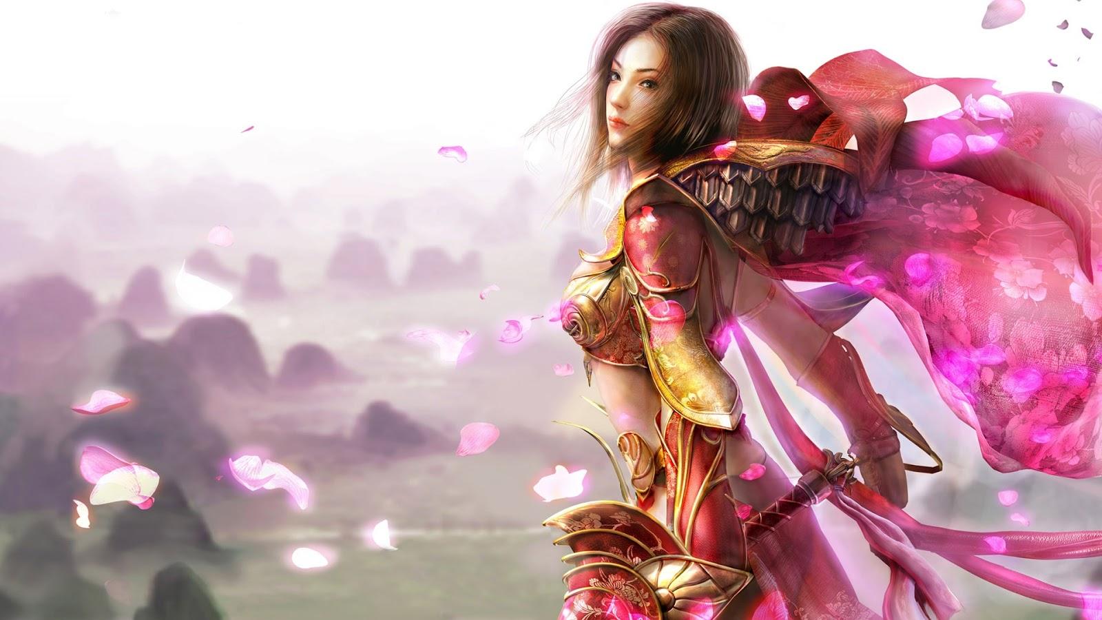 HD 3D Fantasy Girls Wallpapers 1600x900