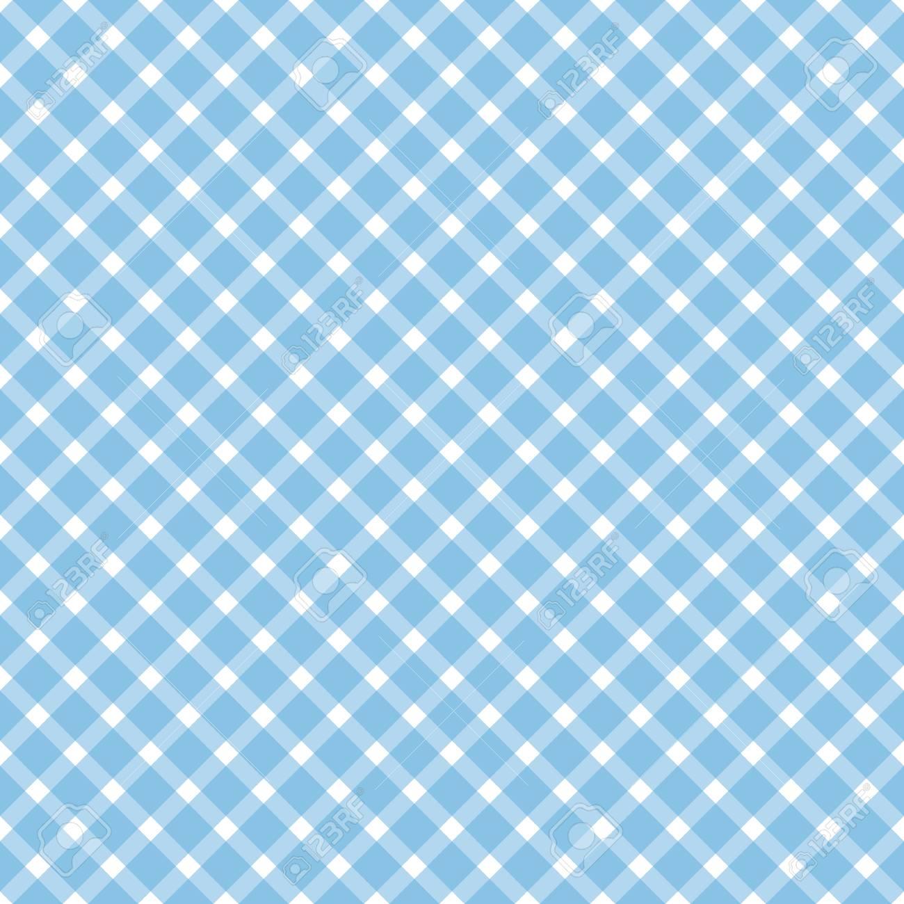 Oktoberfest Background With Seamless Blue White Checkered Pattern 1300x1300