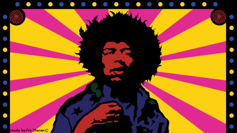 Free Download Jimi Hendrix Hd Wallpaper By Protharan