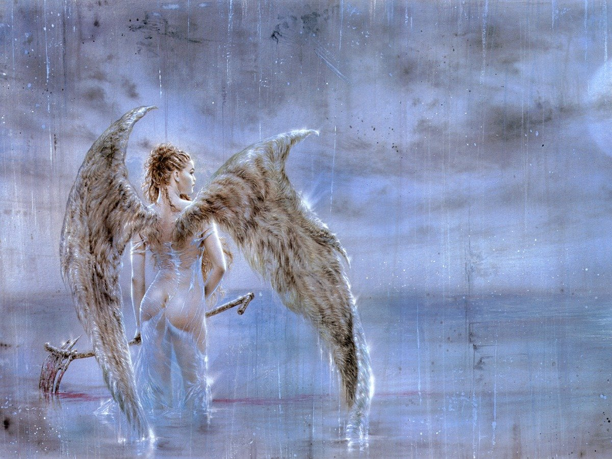 Fallen Angel IV Wallpapers Metal Luis Royo Heavy Metal 1200x900