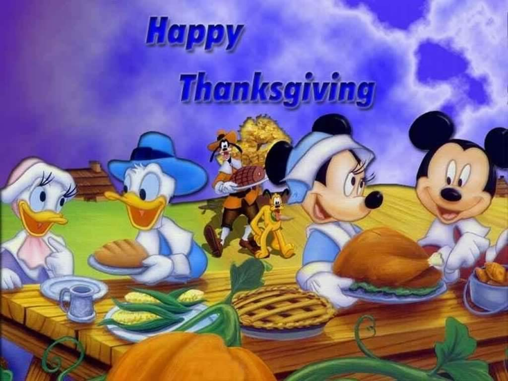 Top Cartoon Wallpapers Thanksgiving Wallpapers 1024x768
