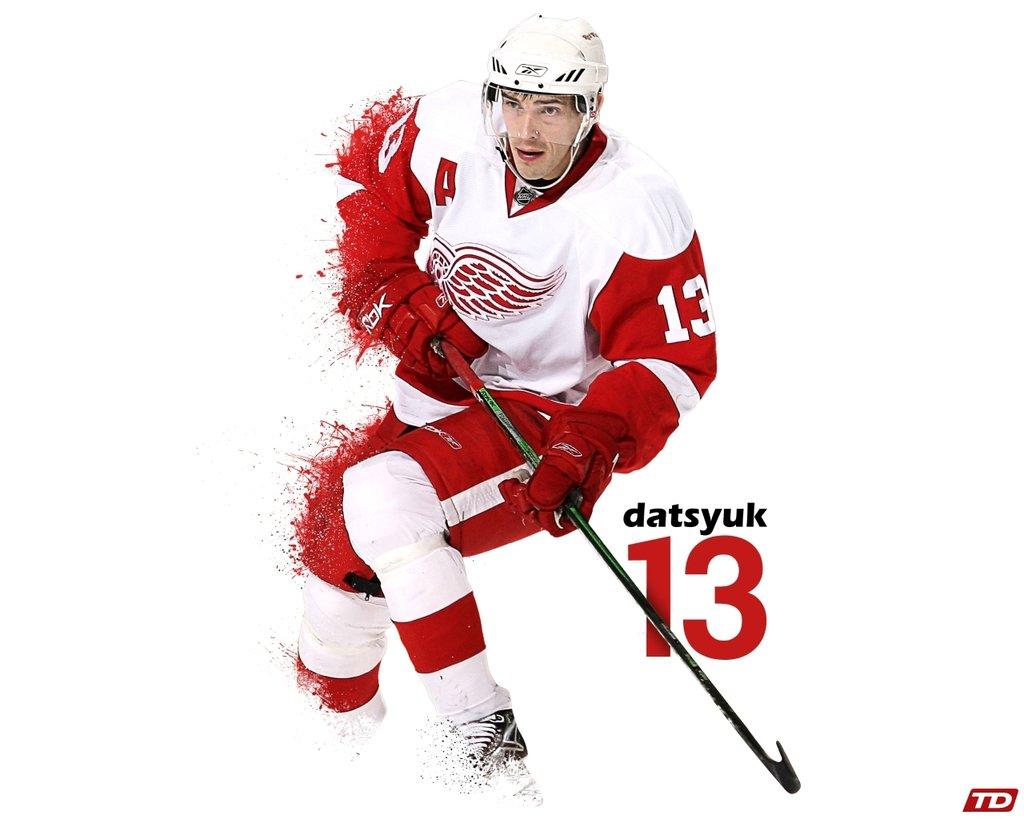 Pavel Datsyuk Desktop Wallpaper [1280x1024] DetroitRedWings 1024x819