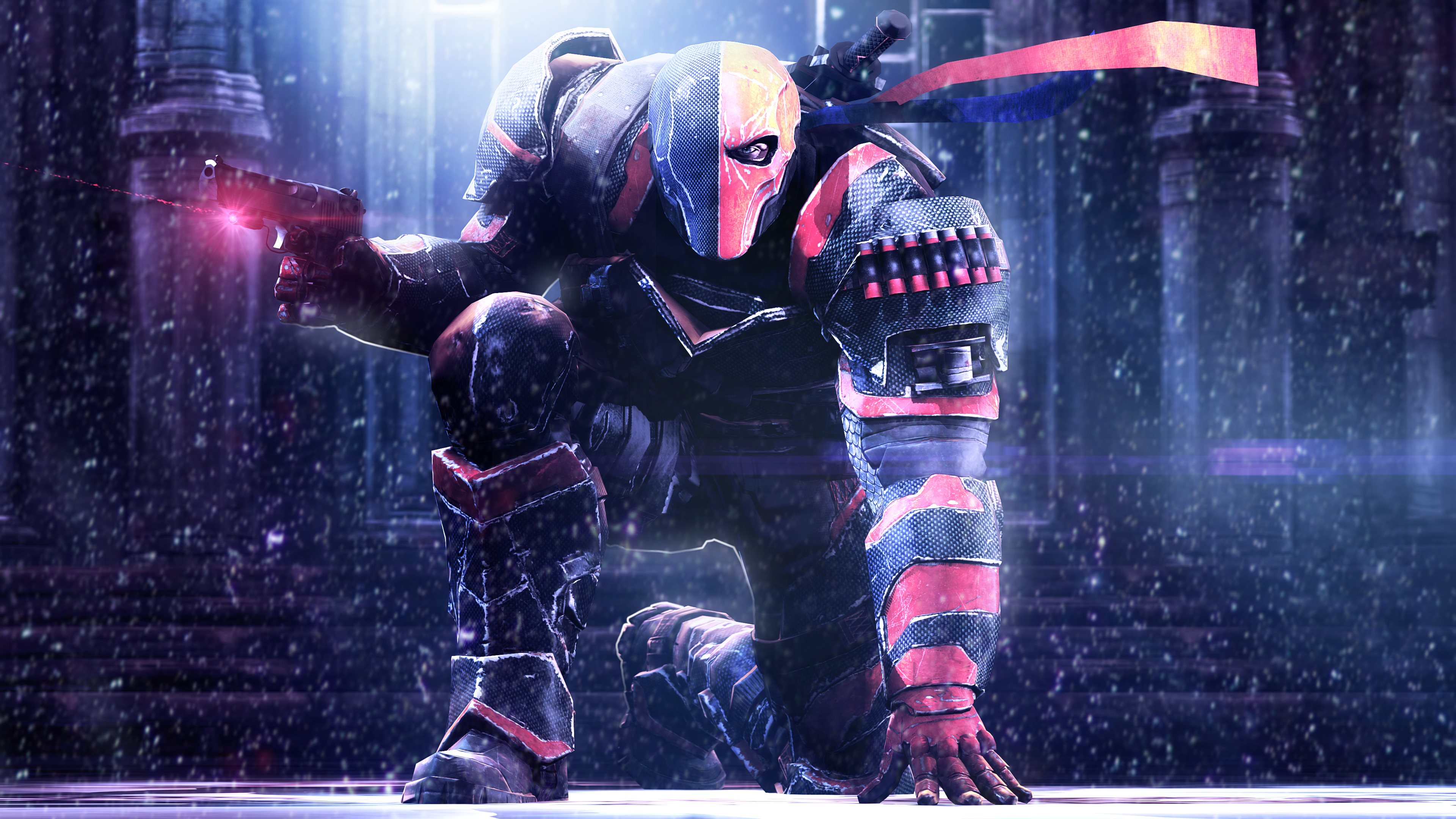 Deathstroke from Batman Arkham Origins also known as Deathstroke the 3840x2160