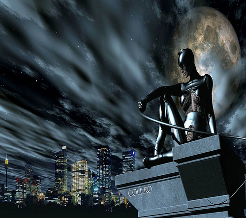 Catwoman Wallpaper HD Desktop HD  Flickr   Photo Sharing 500x444