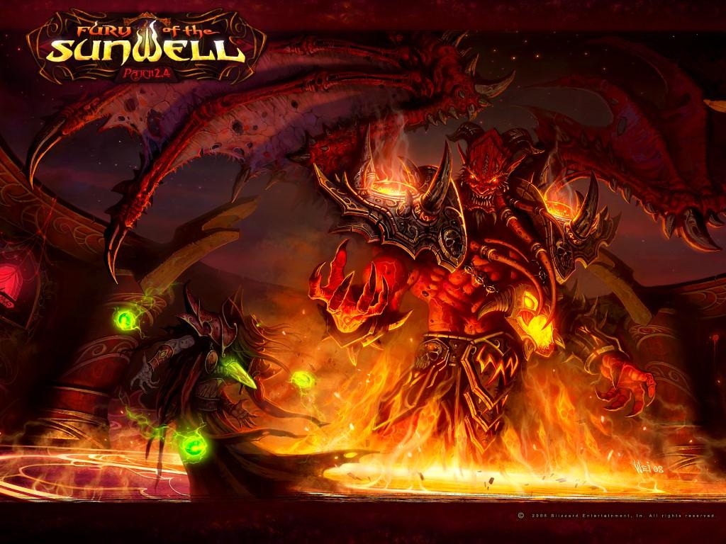 World of Warcraft desktop wallpaper World of Warcraft 1024x768