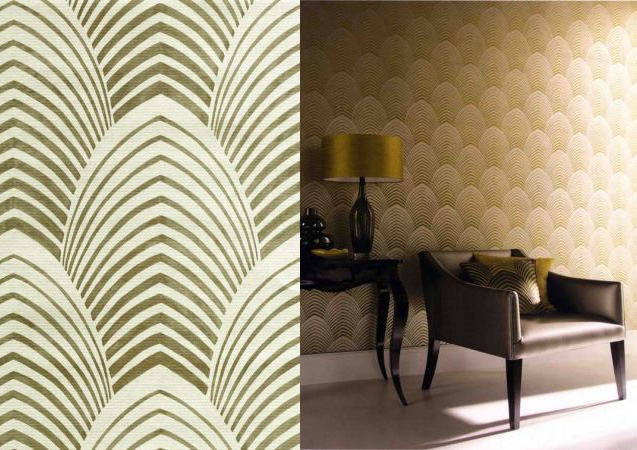 Arkona Deco Pale Brown   60765 Wallpaper Wallpapersalescouk 637x450