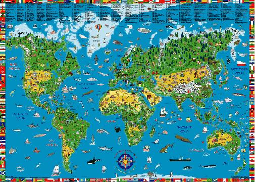 Tom Blogs The world on your desktop map wallpaper 505x360