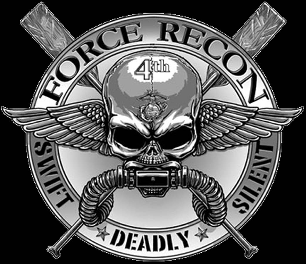 Go Back Images For Official Marine Recon Logo 1042x900