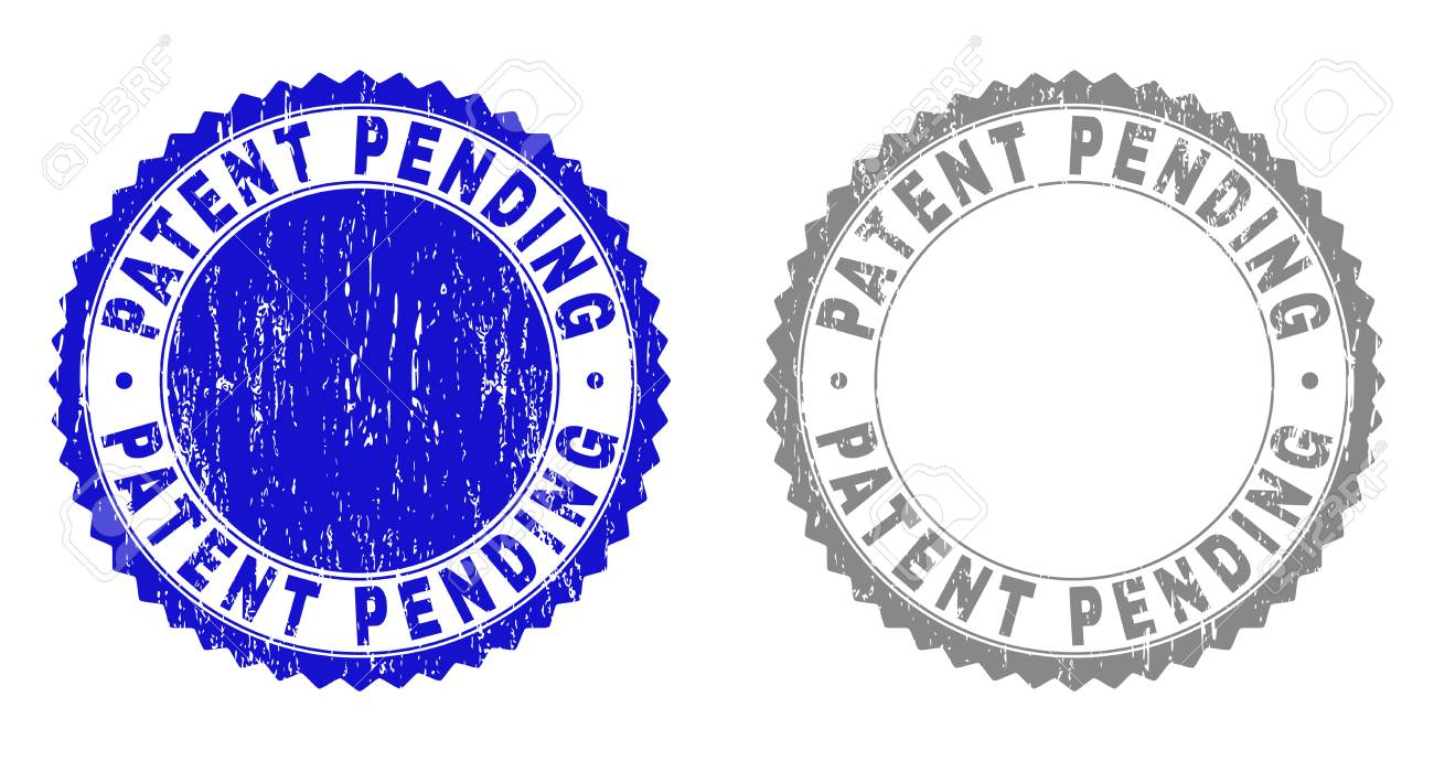 Grunge PATENT PENDING Watermarks Isolated On A White Background 1300x690