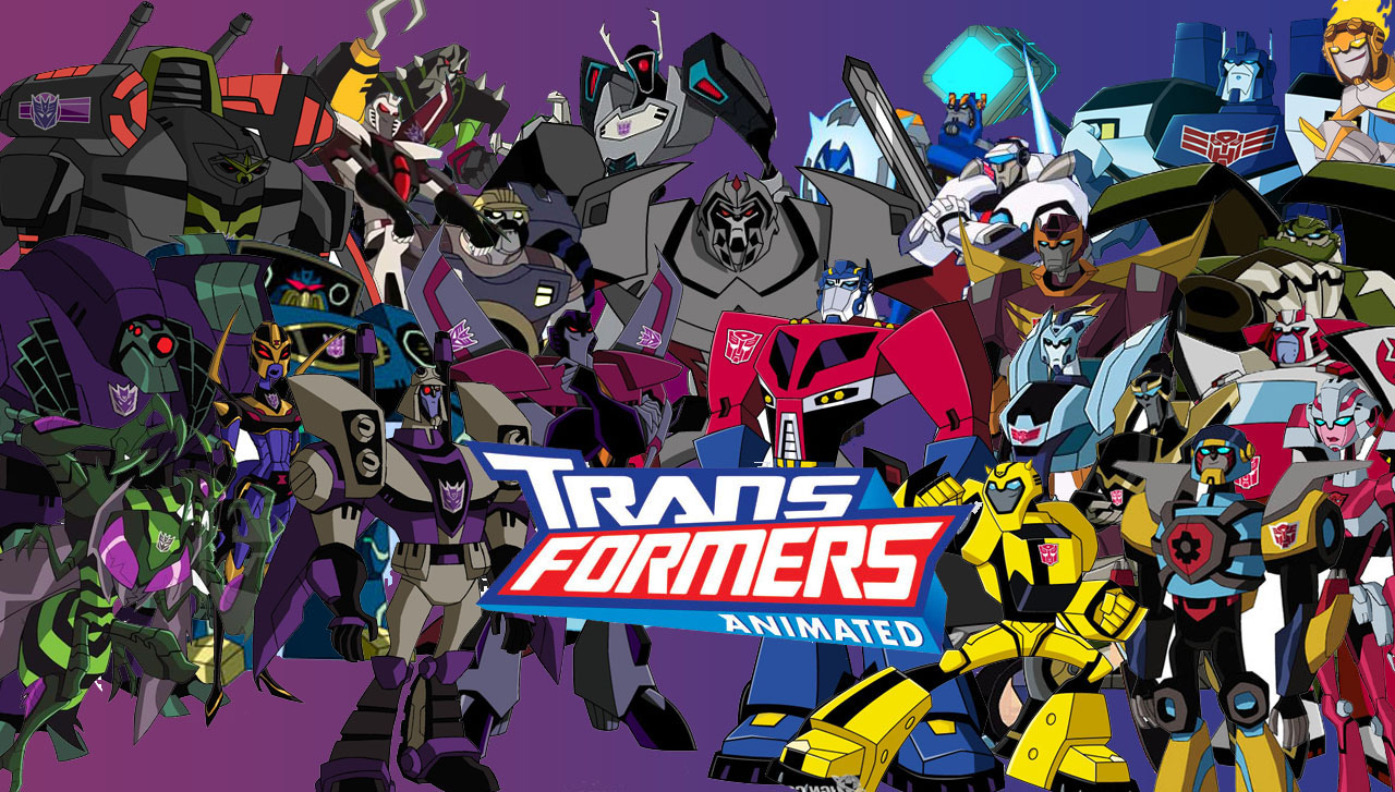Transformers Animated wallpaper group2jpg 1280x727