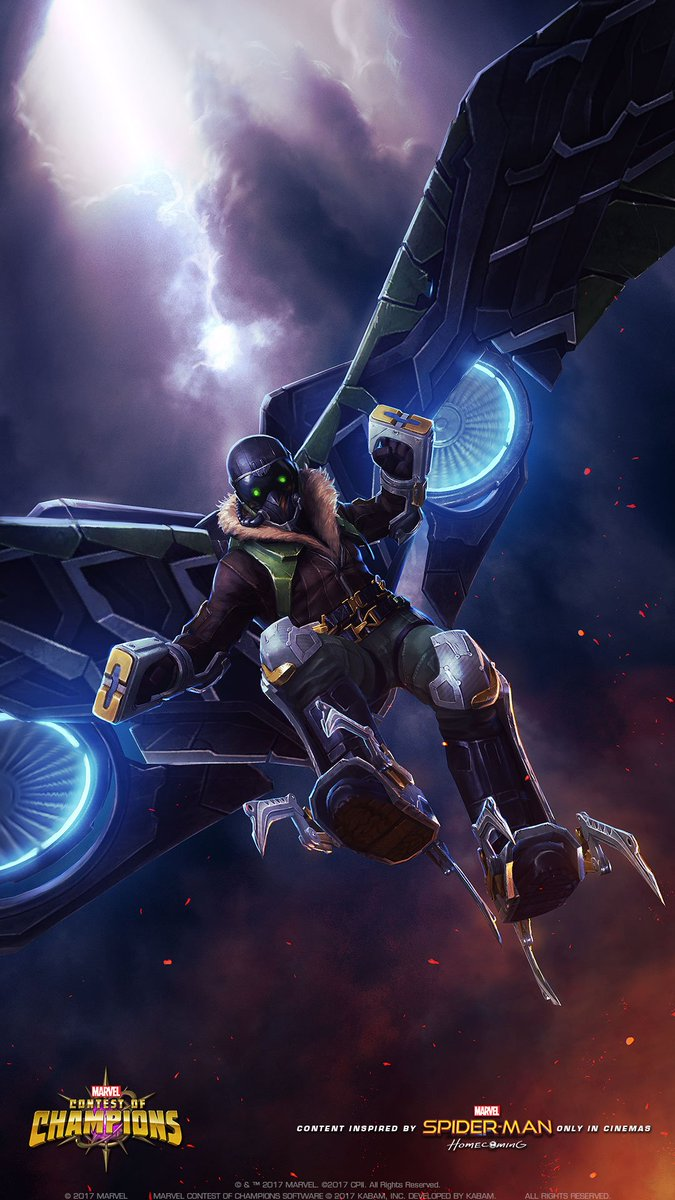 MarvelChampions on Twitter This new Vulture wallpaper will make 675x1200