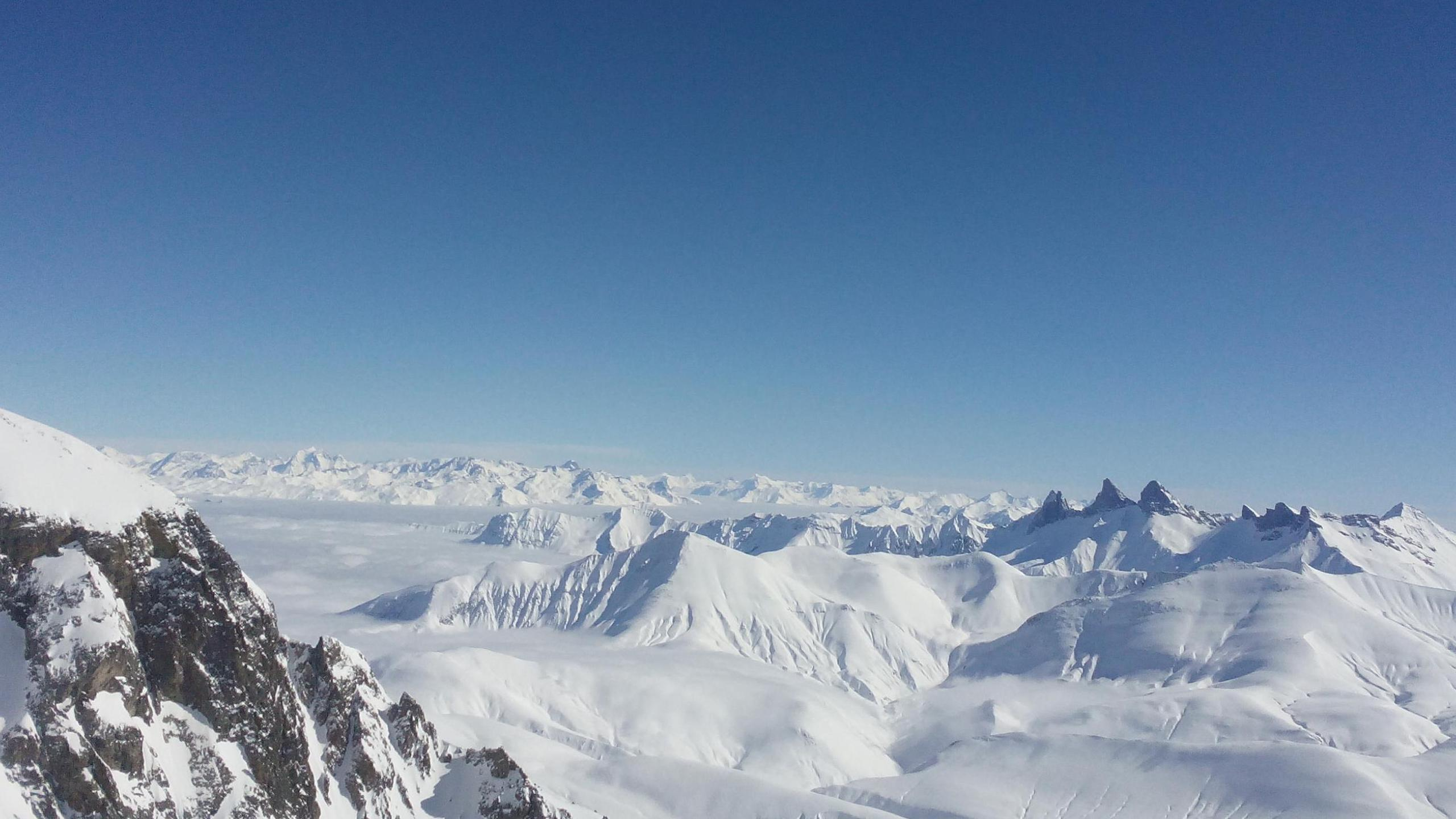 BOTPOST [BOTPOST] View from Pic Blanc Alpe dHuez France iimgur 2560x1440