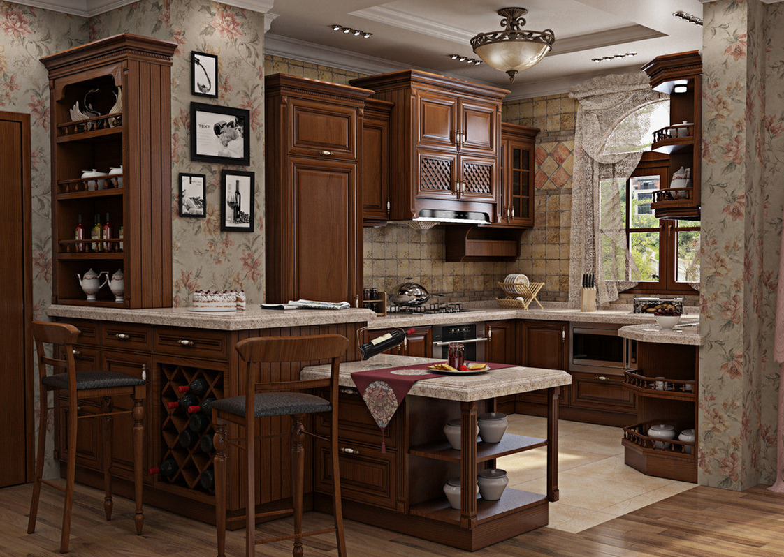 beige corner kitchen cabinets 3d kitchen cabinets with microwave oven 1122x798