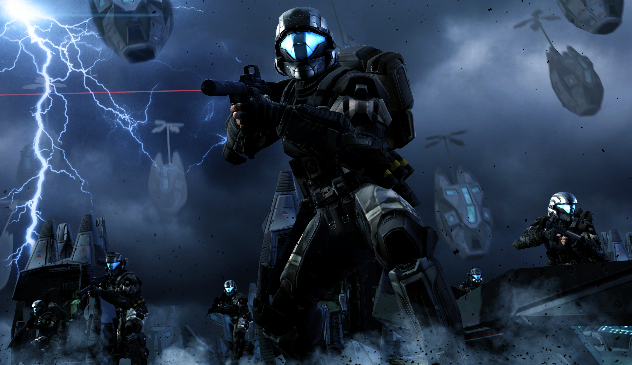 halo 3 odst iphone wallpaper