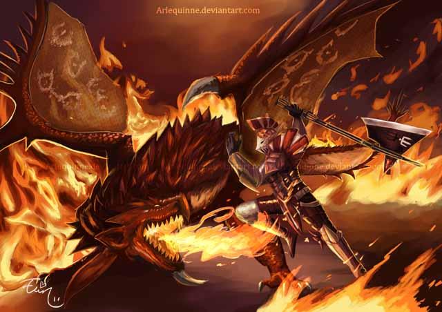 Monster hunter 3 Ultimate by Arlequinne 640x452