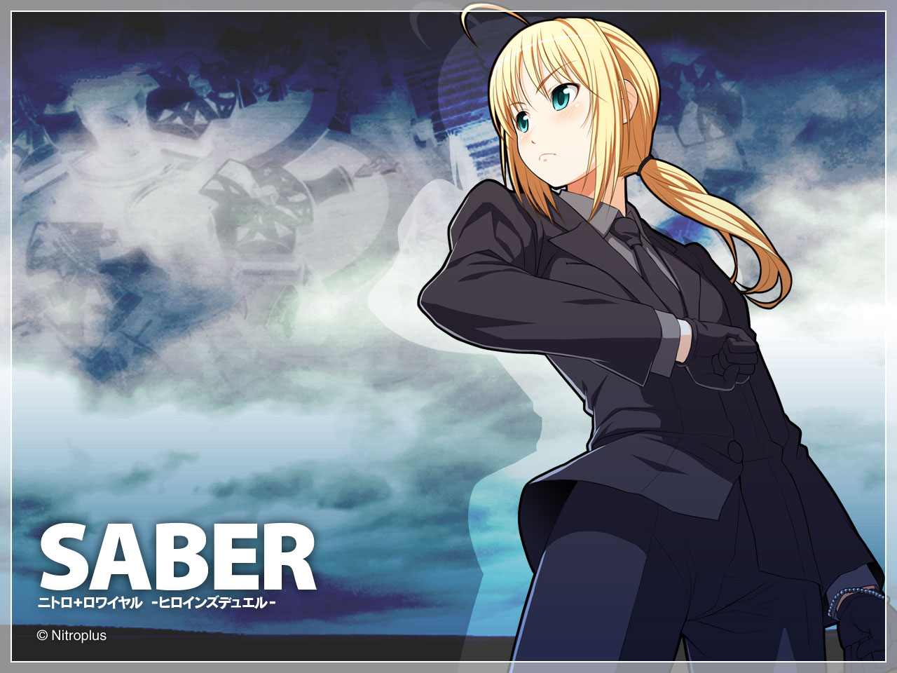 Saber   Fate Stay Night Wallpaper 24684471 1280x960