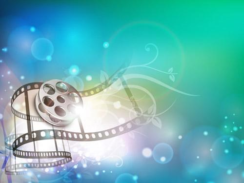 Dream Movie Film Background Vector Graphic Download 500x375