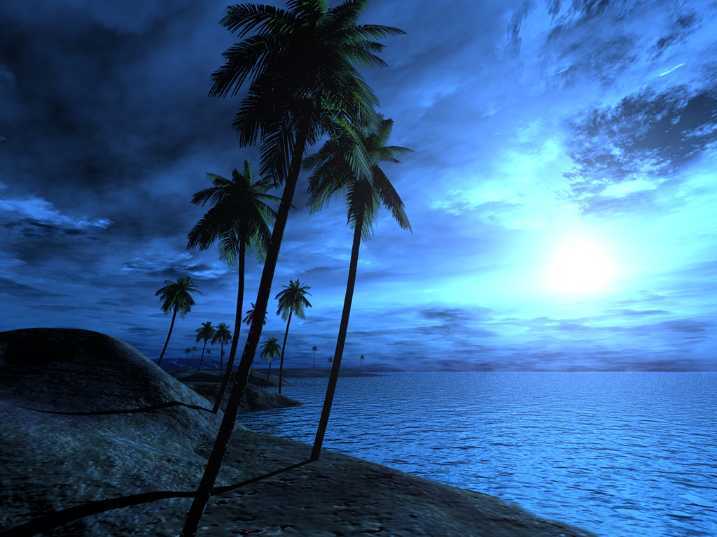 48 ] 3D Beach Wallpapers For Desktop On WallpaperSafari