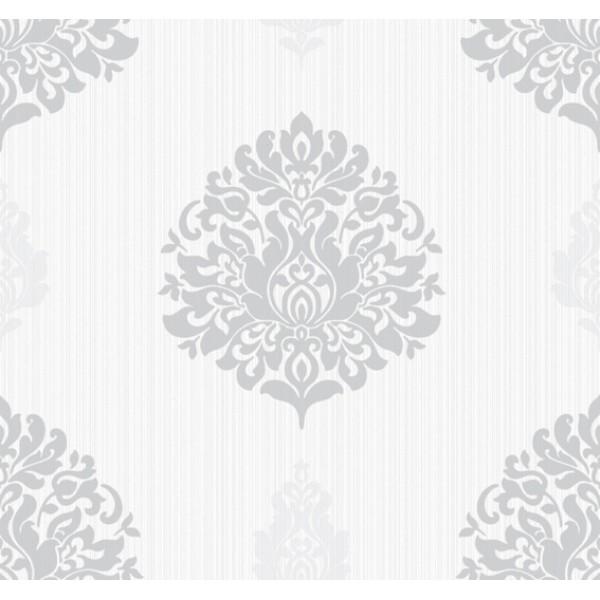 Wallpaper Sale Wallpapers Under 79 Contemporary Metallic Damask 600x600