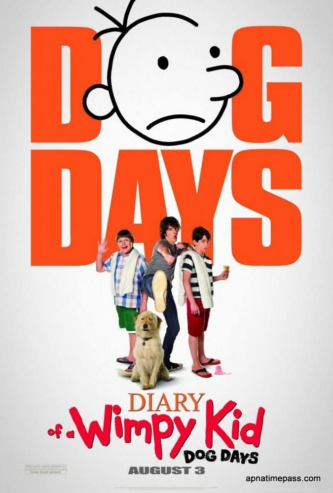 Diary Of A Wimpy Kid Dog Days Movie Wallpapers Desktop Background 675x1000