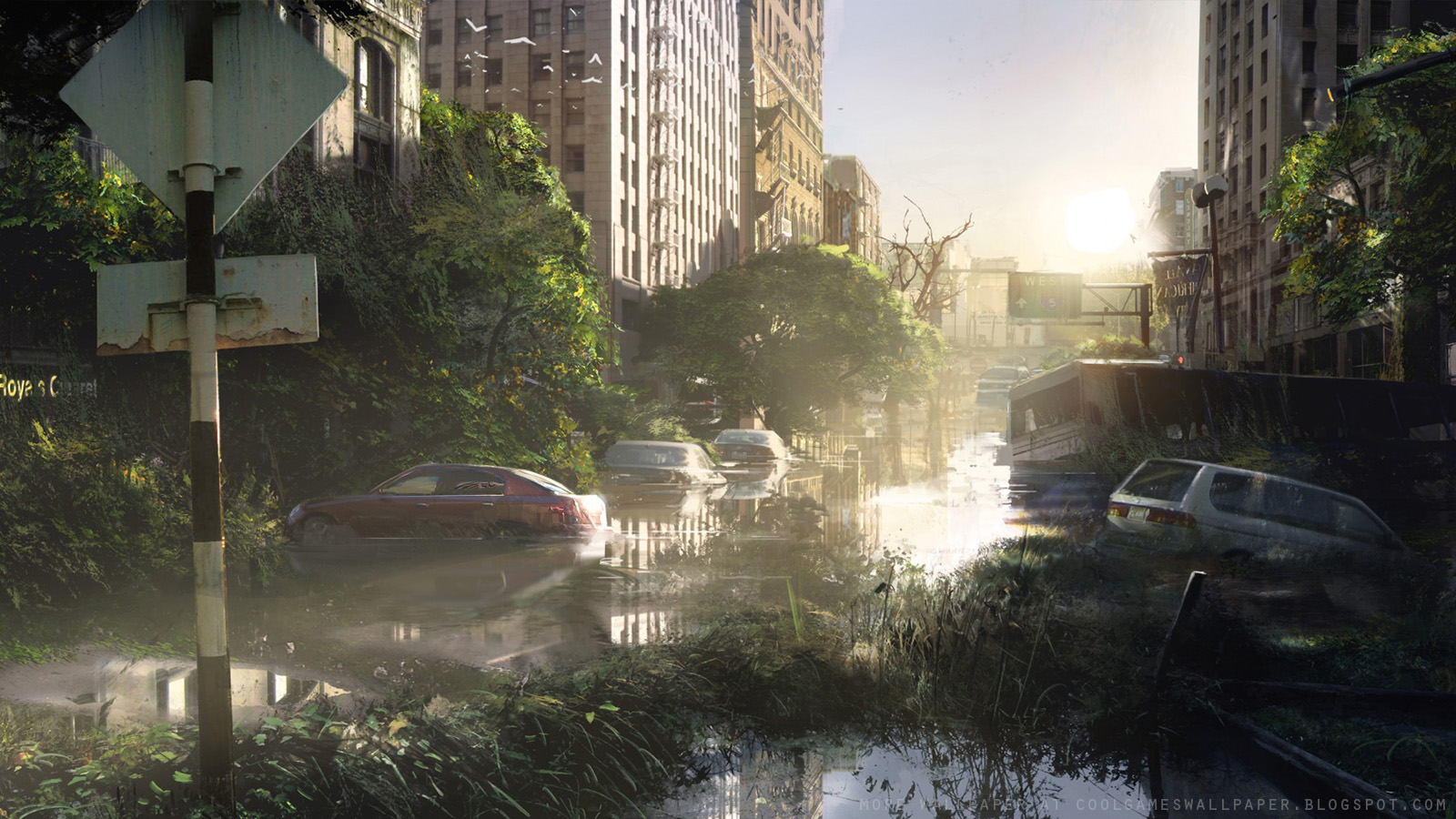 The Last Of Us Background   1600x900 iWallHD   Wallpaper HD 1600x900