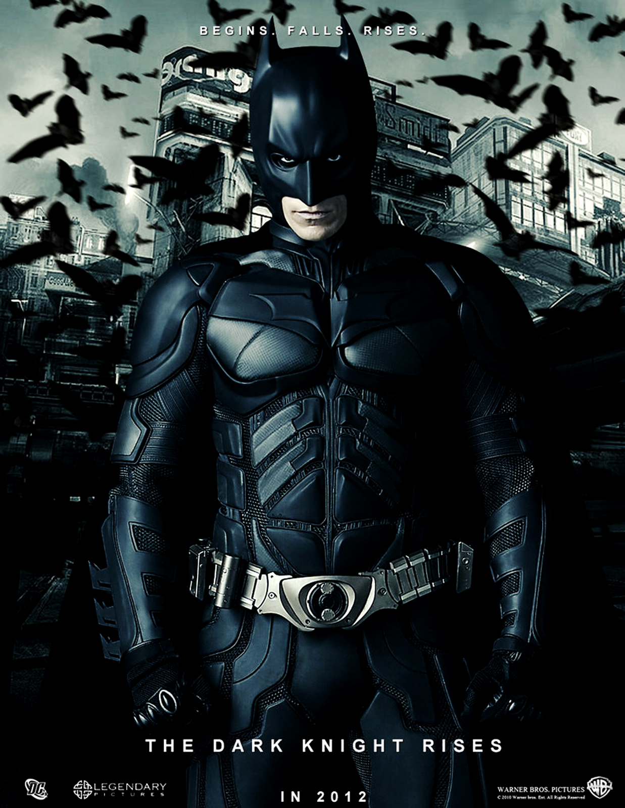 Dark Knight Rises 2012 HD Poster Wallpapers Download Wallpapers 1237x1600