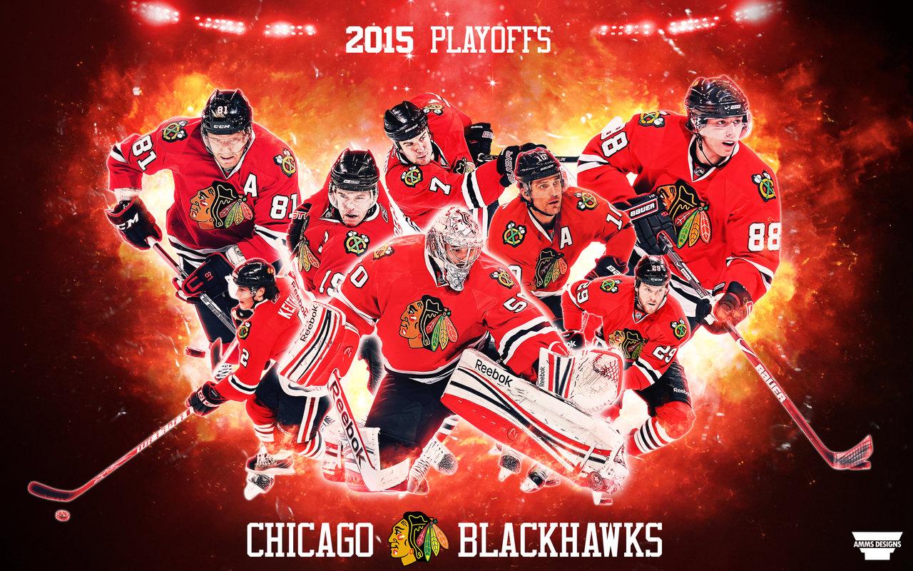 Blackhawks 2015 Playoffs Wallpaper by AMMSDesings 1280x800
