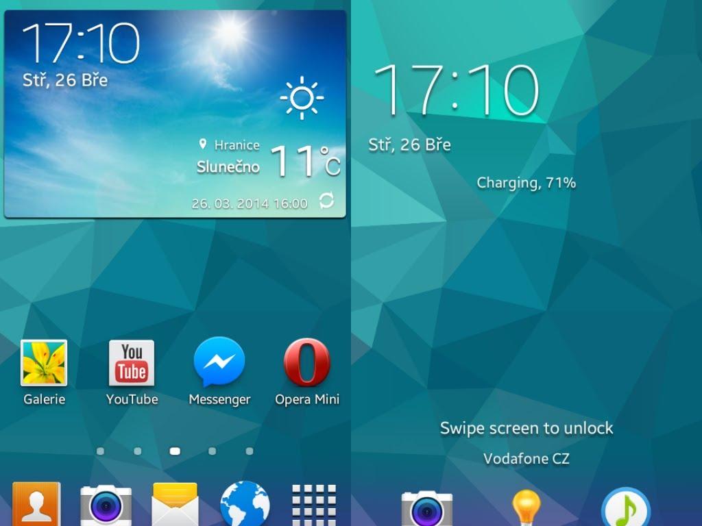 Samsung Galaxy S5 Live Wallpaper