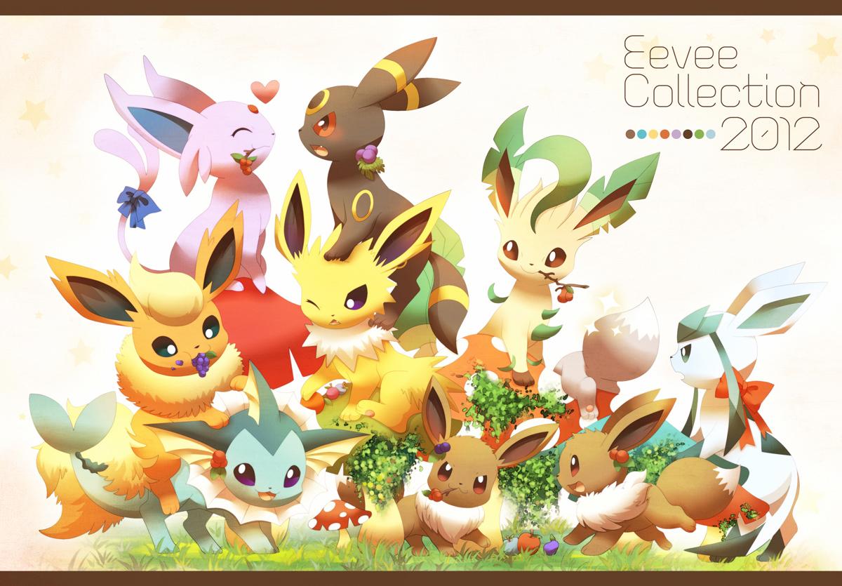image with Pokemon Cute Eevee Evolutions Eevee Evolutions Pokemon 3900 1200x835