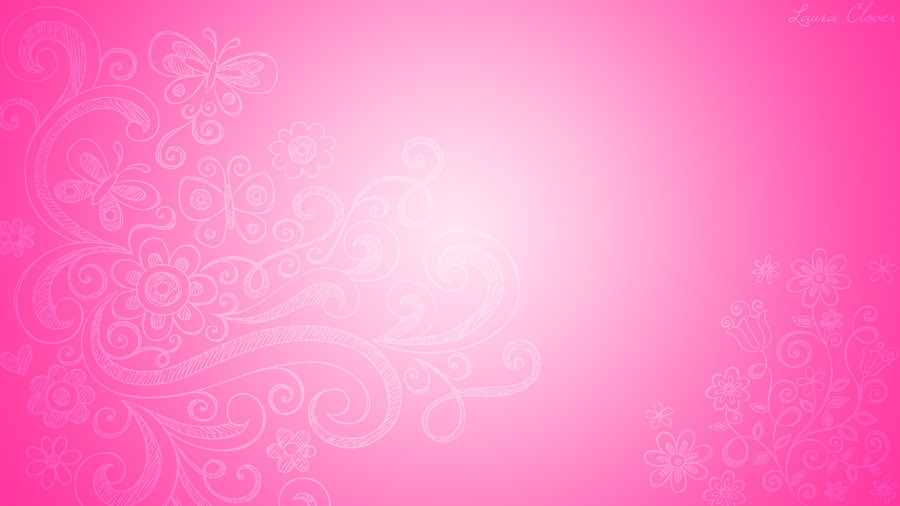 Wallpaper Pink Fantasy by LauraClover 900x506