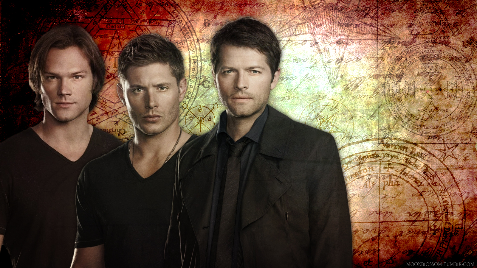 49 Sam Dean And Castiel Wallpaper On Wallpapersafari