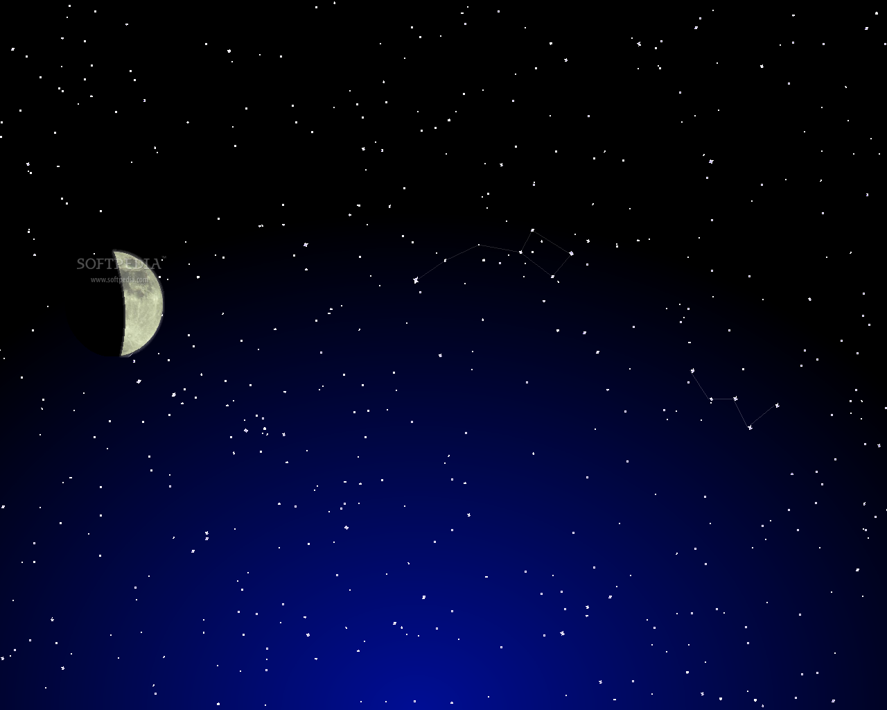 Phases of the Moon   Animated Wallpaper   This is the image displayed 1280x1024