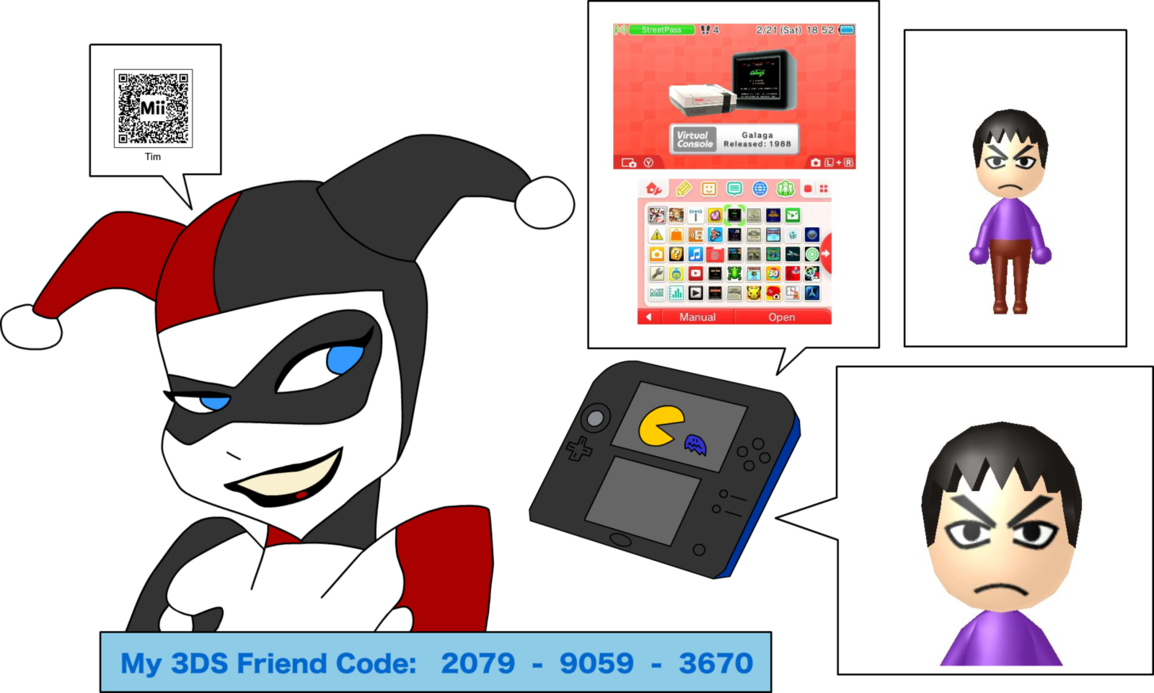 Free Download Harley 3ds Friend Code By T95master 1154x693