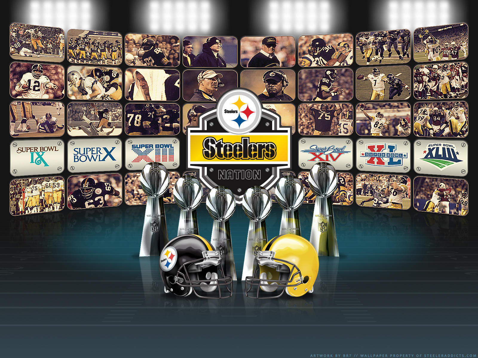 Pittsburgh Steelers Wallpaper 69 Download Screensavers 1600x1200
