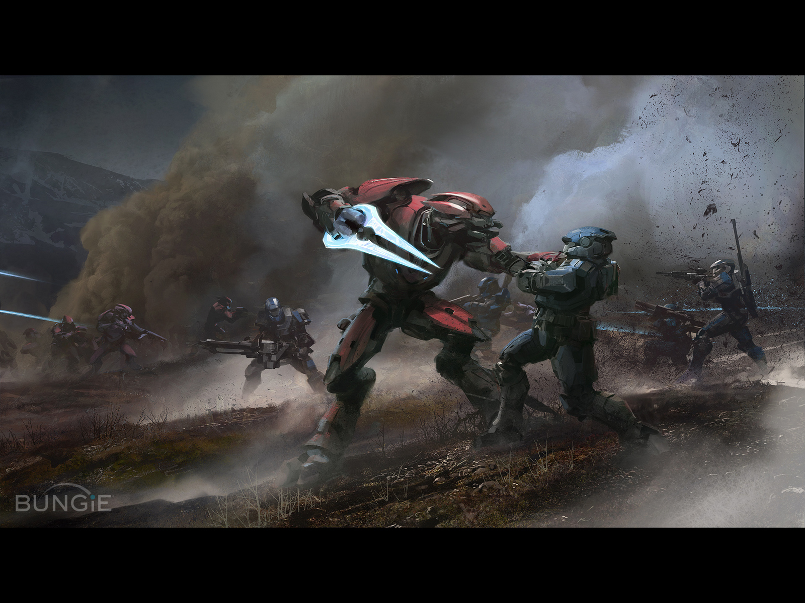 multiplayer madness halo reach wallpaper multiplayer madness wallpaper 1600x1200